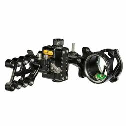 NEW Trophy Ridge React ALPHA 1 One Pin Bow Sight Black W/ Li