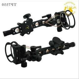 """5 pins .019"""" Bow Sight with Micro Adjust Detachable Bracket,"""