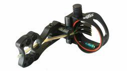 8966 PSE Amp Micro 5 Pin Bow Sight Black 42218BK w/ Removabl