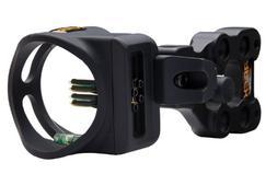 """Apex Gear Accu-Strike 4-Pin Sight .019"""" Black"""