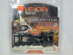 "APEX GEAR Accu-Strike Pro Select 3-Pin Sight .019"" Black"