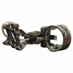 Apex Gear Accu Strike XS Series 5-Pin Bow Sight - Realtree X