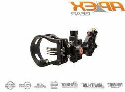 TRUGLO AG4713BK Apex Gear Attitude 3 Pin Light.019, Black