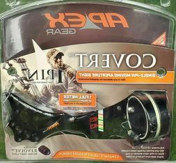 Apex Covert Single Pin Adjustable Green Dot Archery Bow Sigh