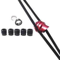 Archery 45 Degree Compound Bow Peep Sight Housing Clarifier