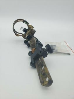 TOPOINT Archery Bow Sight 5-Pin.019 Micro Adjustable Optical