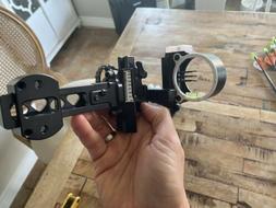 Black Gold Ascent Slider Sight - 3 Pin .10 RH