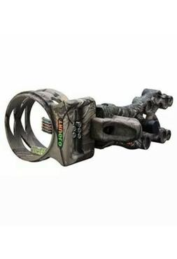 TruGlo Carbon  Xtreme 5 Pin Bow Sight .019 Pins Realtree Xtr