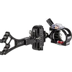 Custom Bow Equipment CBE 1 Pin .019 Tek Hybrid Pro Sight, Ri