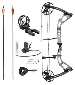 """Leader Accessories Compound Bow 25-70lbs 19"""" - 31"""" Archery H"""