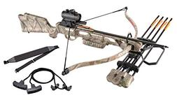Crossbow Package 160lbs 210fps Archery Hunting Bow w/ Quiver