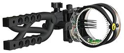Trophy Ridge Cypher 5 Pin .019 Micro Adjust Bow Sight, Camo
