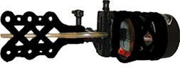 Extreme Archery EXR 1900 Sight with 6 Pin .015 Rheostat Ligh