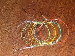 """FIBER OPTIC OPTICS 1-12"""" Piece .019"""" Dia. for Archery Bow Gu"""