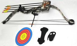 High Five Youth Whisker Compound Bow w/ 3 Arrows & more!!