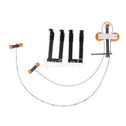 Compound Bow Hunting Archery Metal Bow Press and Quad Limb L