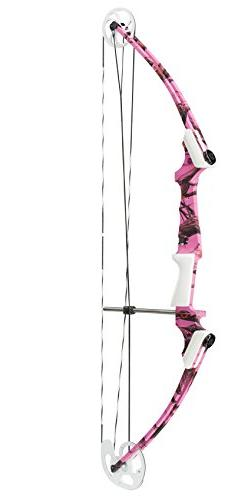 Genesis Bows Pro Bow, Pink Camo, Left Hand