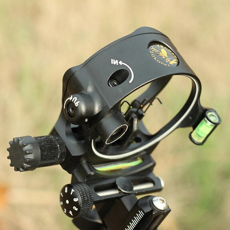 Archery Bow Sight 5-Pin.019 Micro Adjustable Long