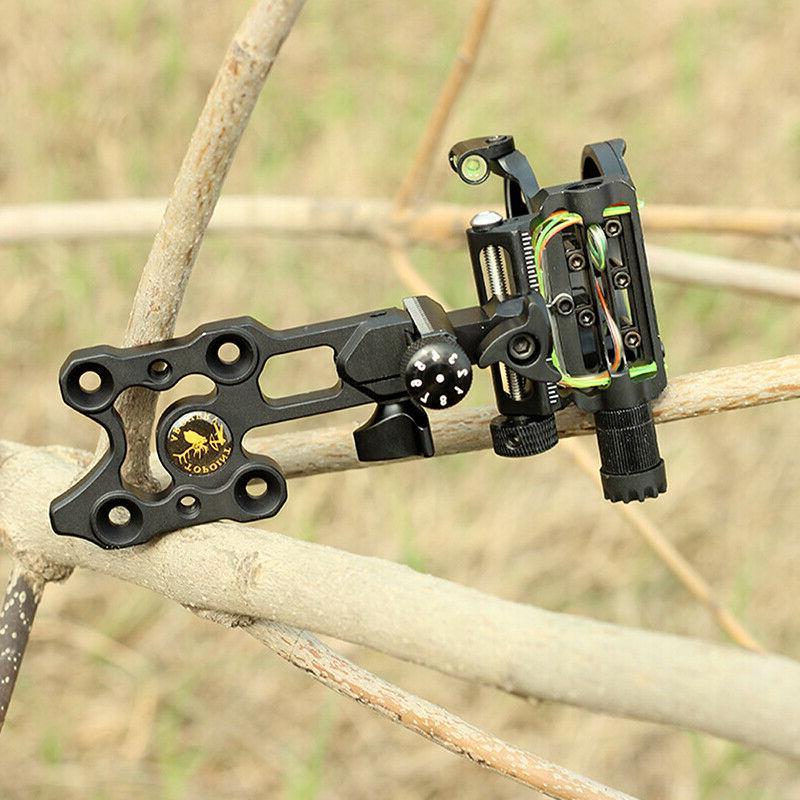 Archery Sight Micro Adjustable Optical Long Rod