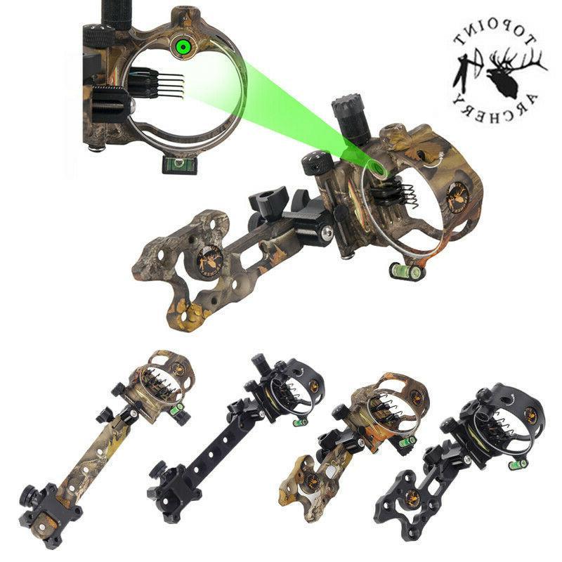 archery bow sight 5 pin 019 micro