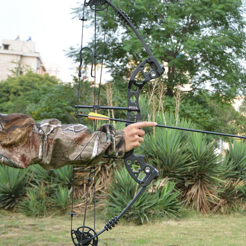 Archery Set 30-55lbs Release Aid Bow Hunting