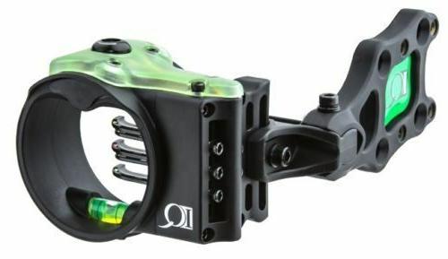 IQ Ultra Lite Bowsight - 5 pin - Black Right Hand - Item # 0