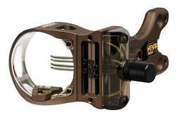 New Truglo Apex Gear Nitrus 4 Pin Bow Archery Sight w/ LED L