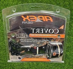 @NEW@ Apex Gear Covert 4 Pin Adjustable Bow Sight! Black RH