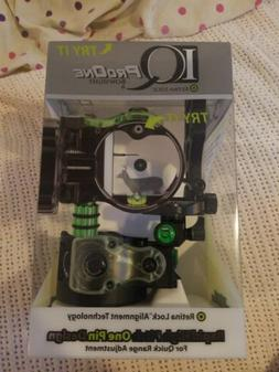 New IQ Bowsight Pro One 1 Single Pin Bow Sight W/ Retina Loc