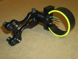 New GWS Striker 3 Pin Sight .029 Fiber Optic Bowhunting PSE