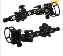 Compound Bow 7 Pin Optic Bow Sight .019 Micro Adjust Detacha