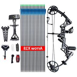 """Compound Bow Package,M1,19""""-30"""" Draw Length,19-70Lbs Draw We"""