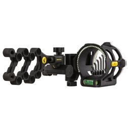 "Trophy Ridge Peak 5-Pin Bow Sight with Light .019"" Pin Left"