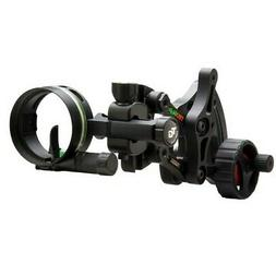 TRUGLO RANGE-ROVER Series Single-Pin Moving Bow Sight, Black