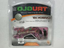 @NEW@ TRUGLO REALTREE AP PINK CAMO CARBON XS BOW HUNTING SIG