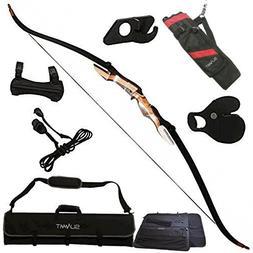 Samick Sage Takedown Recurve Bow Bundle with: Summit Archery