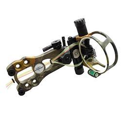 SAS 5 Pins .019 Fiber Optic Bow Sight with Micro Adjustments