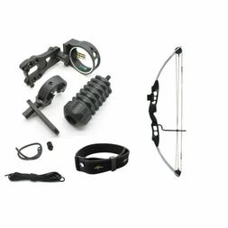 SAS Sergeant 55 Lb Compound Bow With Bow Sight, Stabilizer,