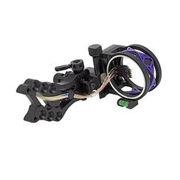 30-06 Outdoors 5 Pin Shocker Bow Sight, Purple