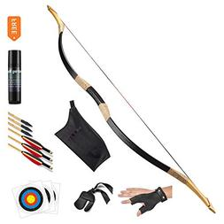 KAINOKAI Traditional Handmade Longbow Horsebow Hunting Recur