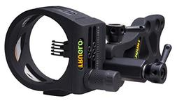TRUGLO TSX Pro Series Bow Sight, 5-Pin, Toolless Adjustment