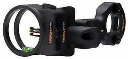 """APEX GEAR Tundra 3-Pin Sight .019"""" Black"""
