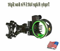 Trophy Ridge Volt 5 Pin Bow Sight, Black